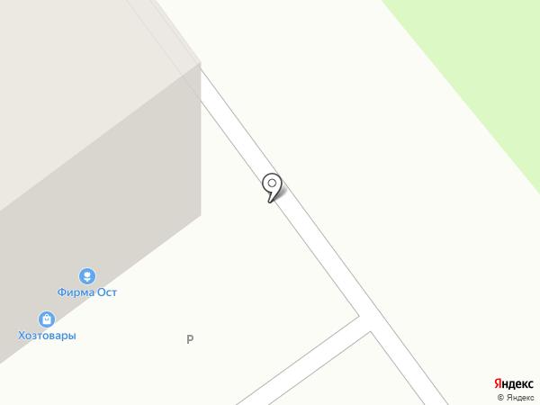 Фирма ОСТ на карте Новокузнецка