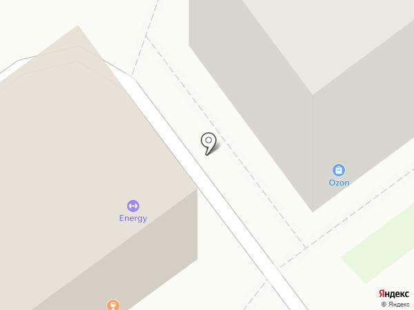 Маджента на карте Новокузнецка