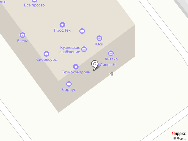 ПрофТех на карте Новокузнецка
