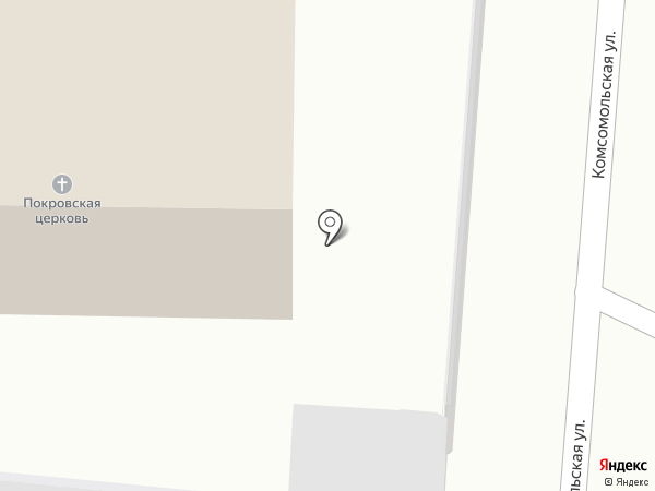Храм Покрова Божией Матери на карте Калтана