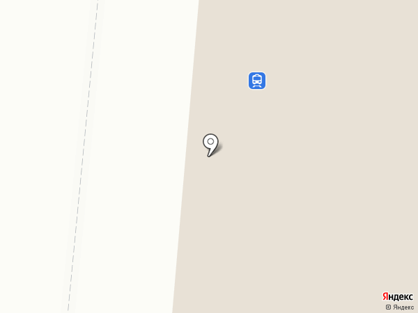 Железнодорожный вокзал на карте Калтана