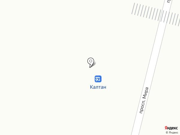 Раскупайка на карте Калтана