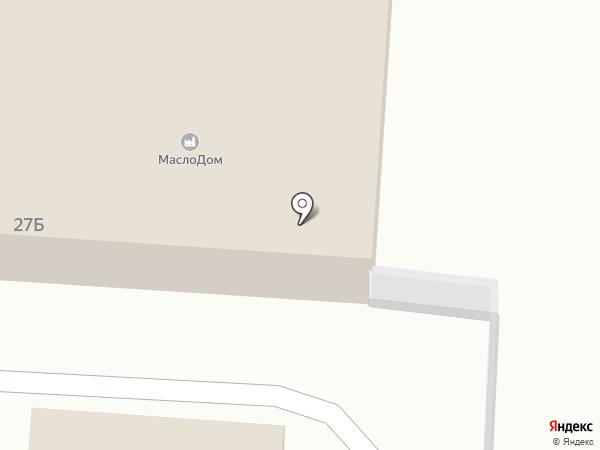 Иномарка на карте Калтана