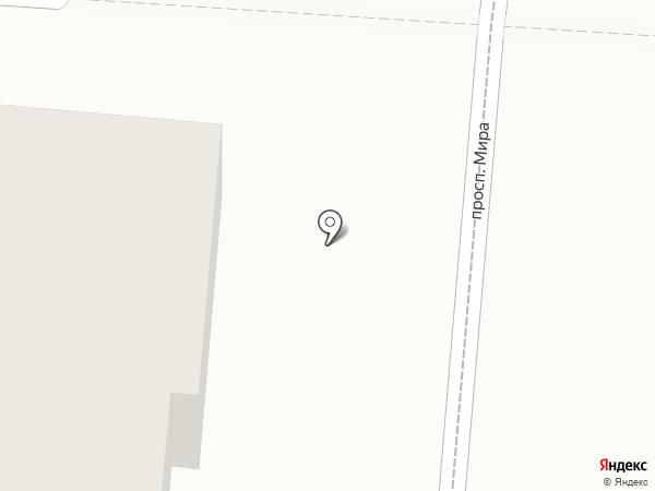Снежный городок на карте Калтана