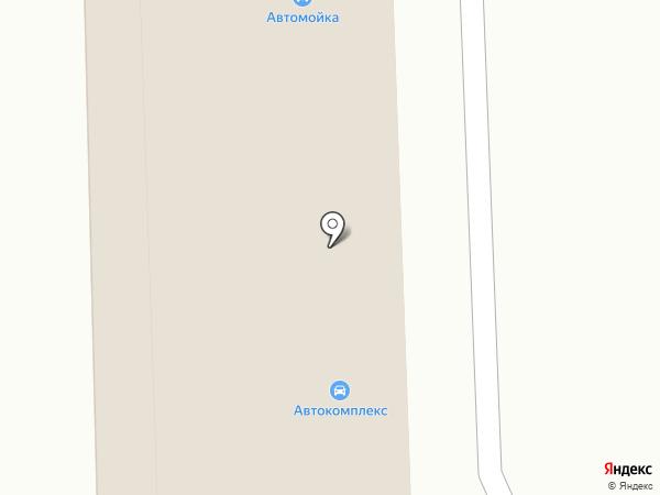 Автокомплекс на карте Калтана