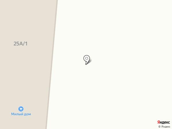 Строительный двор на карте Калтана