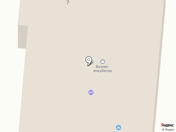 Пионер-сервис на карте Калтана