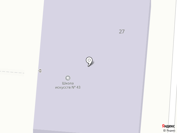 Музыкальная школа №23 на карте Калтана