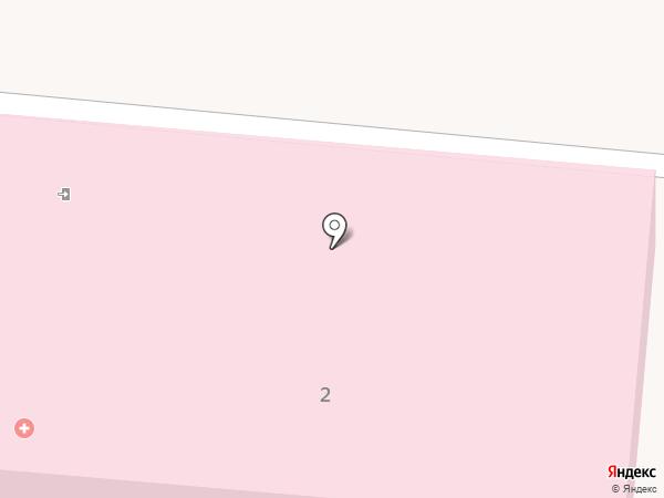 Калтанская психиатрическая больница на карте Калтана