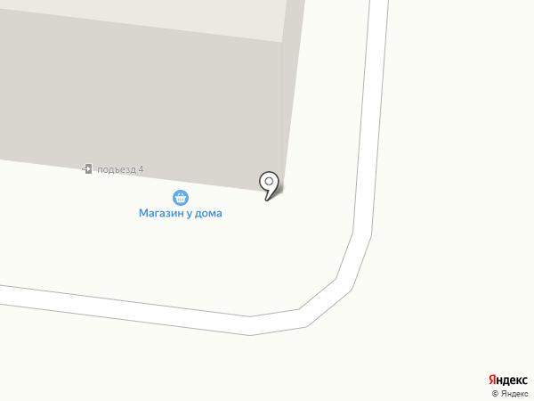 Магазин у дома на карте Калтана