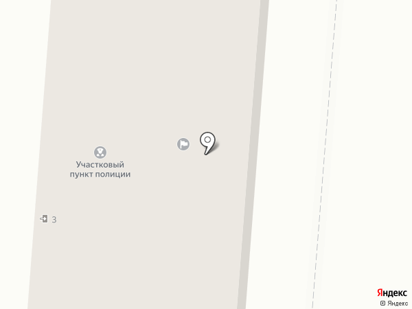 Участковый пункт полиции по г. Калтан на карте Калтана