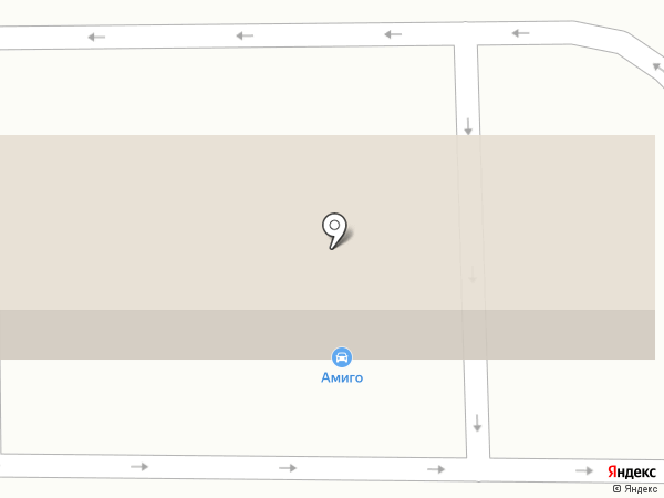 Амиго на карте Новокузнецка