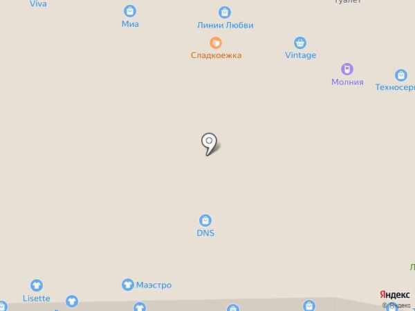 Adetta на карте Новокузнецка