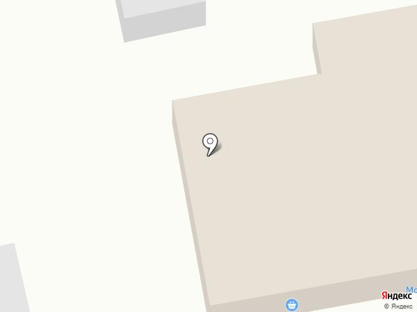 Тургеневский на карте Калтана