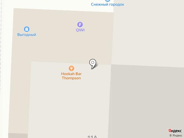 Эгомания на карте Новокузнецка