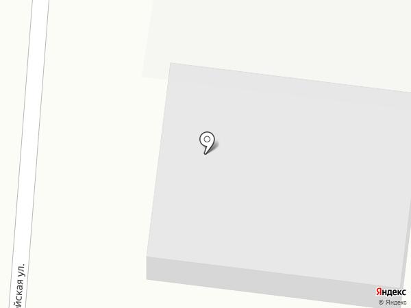 Солнечный на карте Новокузнецка