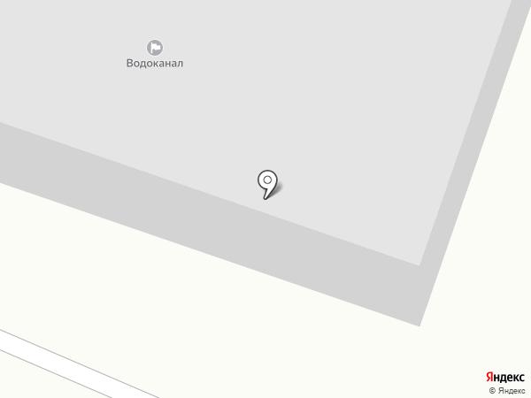 Водоканал, МУП на карте Осинников