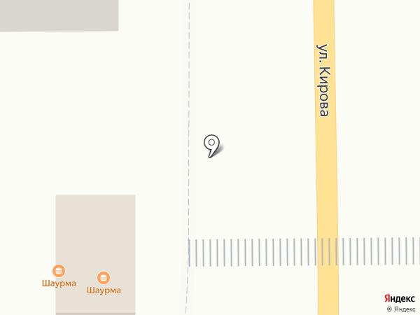 Снежный городок на карте Осинников