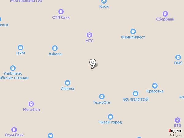 Магазин нижнего белья на карте Осинников