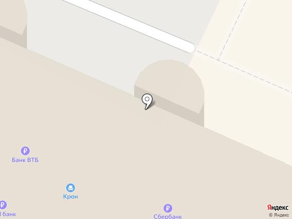 Управляющая на карте Осинников