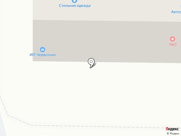 Шевро на карте Осинников