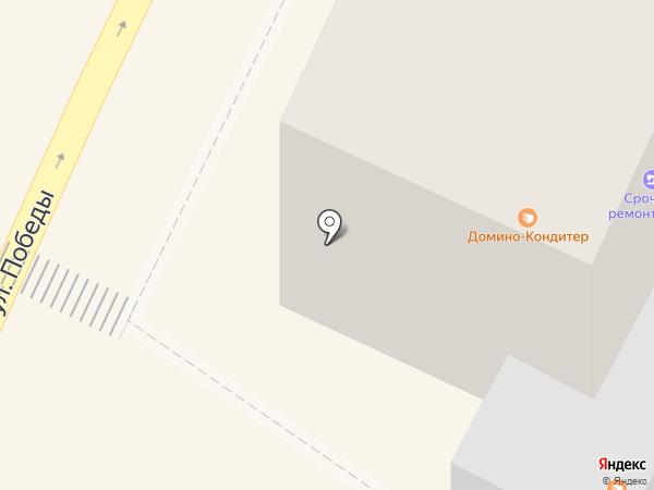 Хлебный на карте Осинников
