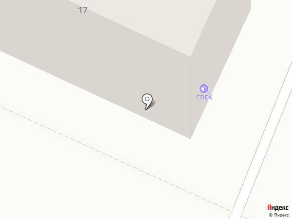 Управление городским хозяйством г. Осинники, МУП на карте Осинников