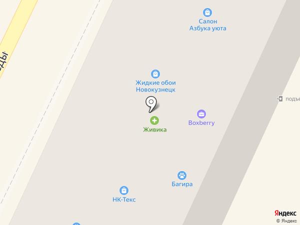 Николь на карте Осинников