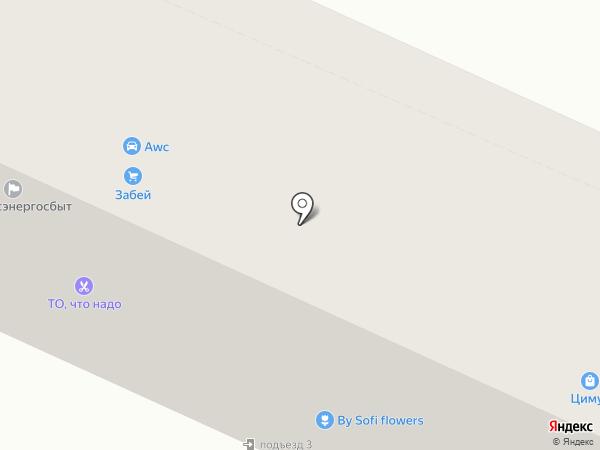 Цимус на карте Осинников
