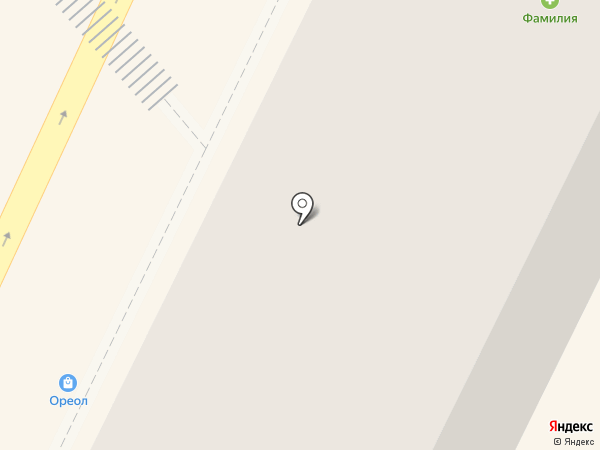 Данко на карте Осинников