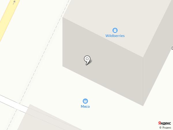 Магазин мяса и рыбы на карте Осинников