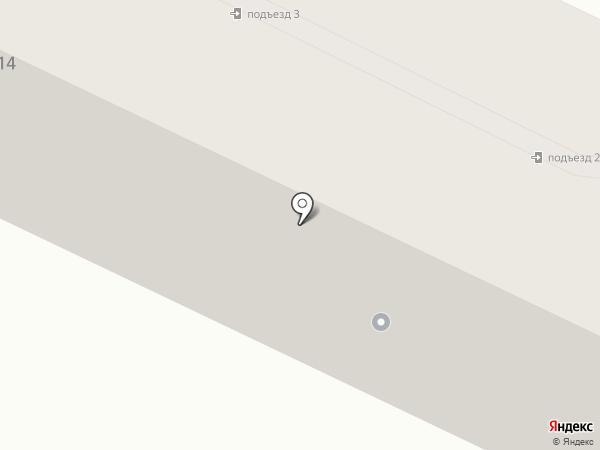 Половинкин А.А. на карте Осинников