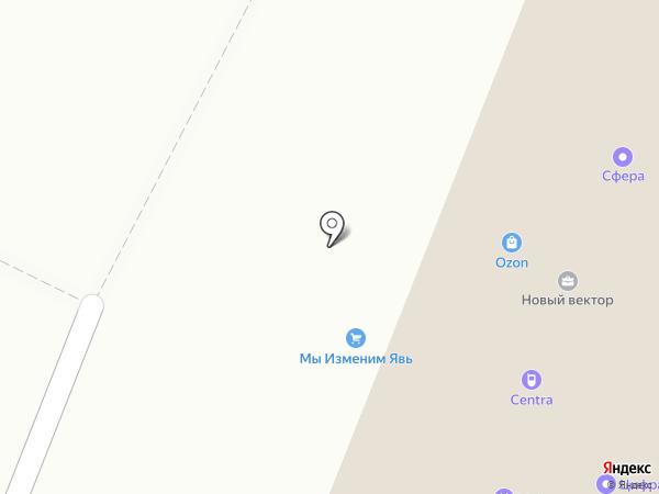 Новый вектор на карте Осинников