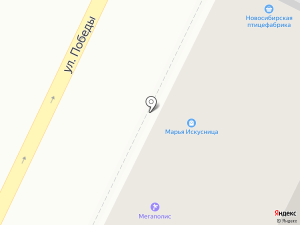 Санти на карте Осинников