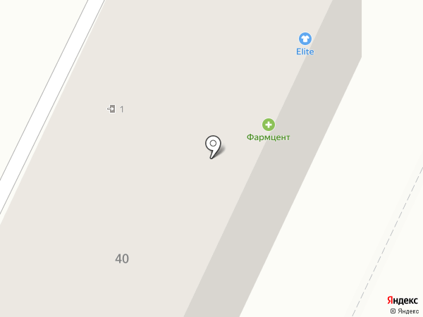 Elite на карте Осинников