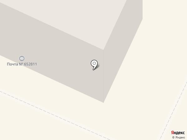 Мандарин на карте Осинников