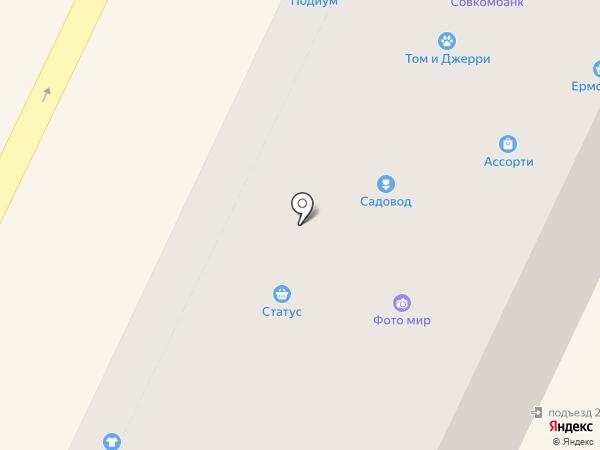Ермолинские полуфабрикаты на карте Осинников