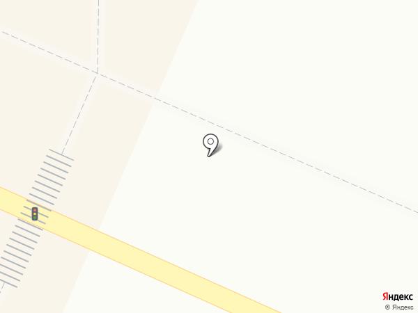 Киоск по продаже цветов на карте Осинников