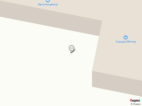 Sakura Motors на карте Осинников