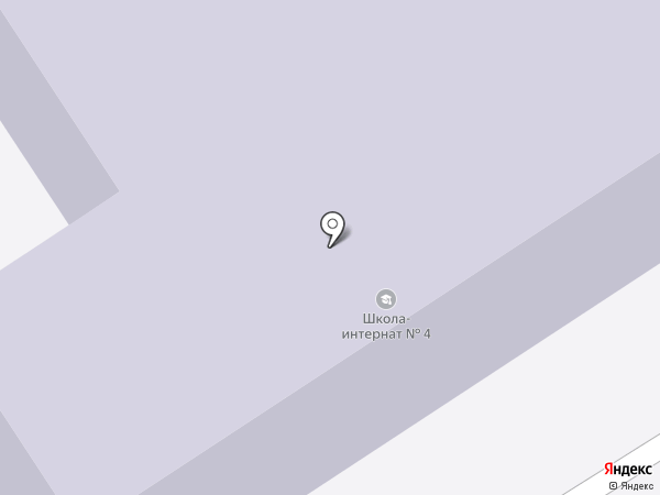 Специальная (коррекционная) общеобразовательная школа-интернат №4 для обучающихся воспитанников с ограниченными возможностями здоровья на карте Осинников