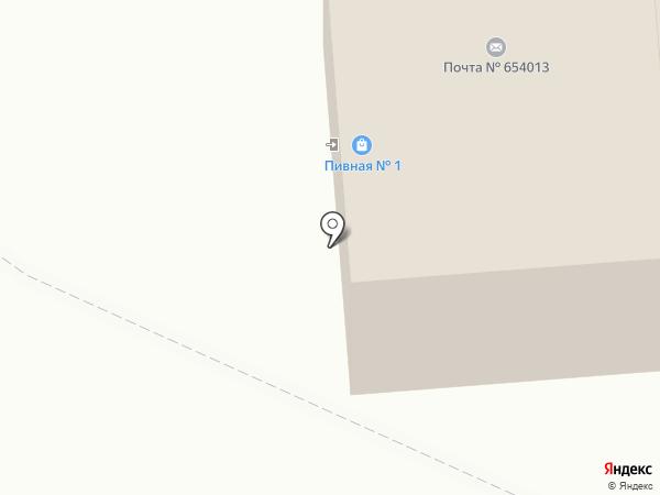 Пятачок на карте Новокузнецка