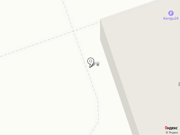 Аврора на карте Новокузнецка
