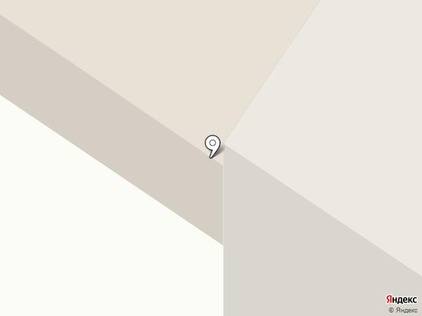 Северная вода на карте Норильска