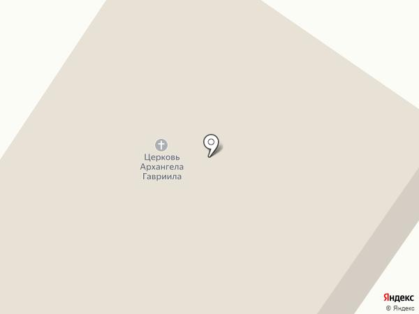 Церковь Святого Архангела Гавриила на карте Норильска