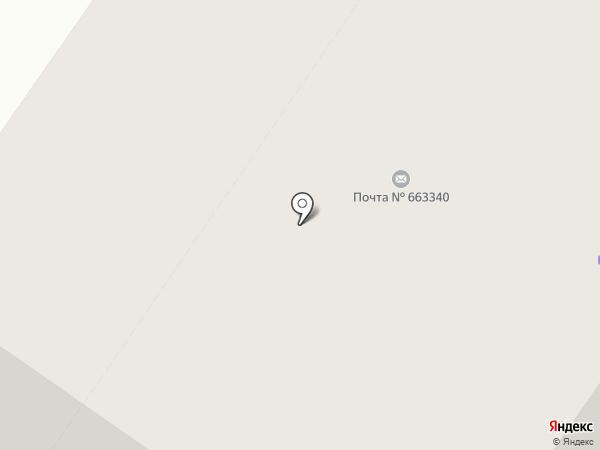 Почтовое отделение №40 на карте Норильска