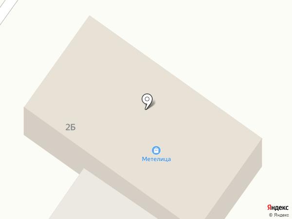 Метелица на карте Норильска