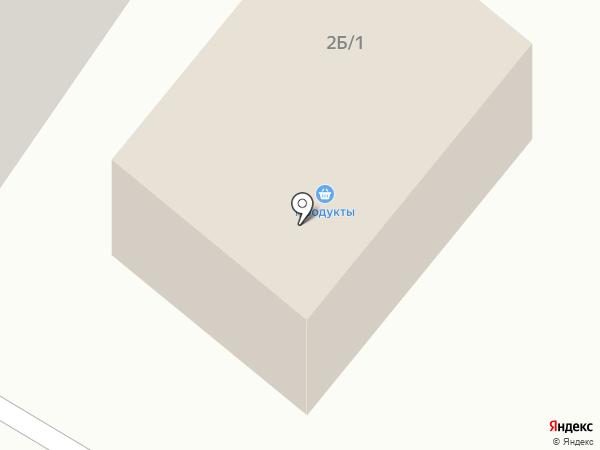 Продуктовый магазин на Надеждинской на карте Норильска