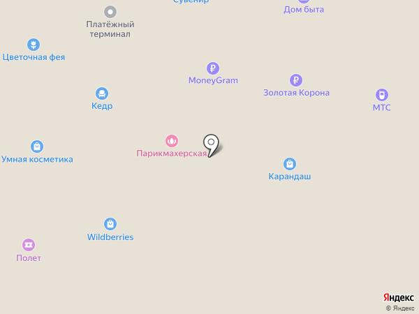 Граммофон на карте Норильска