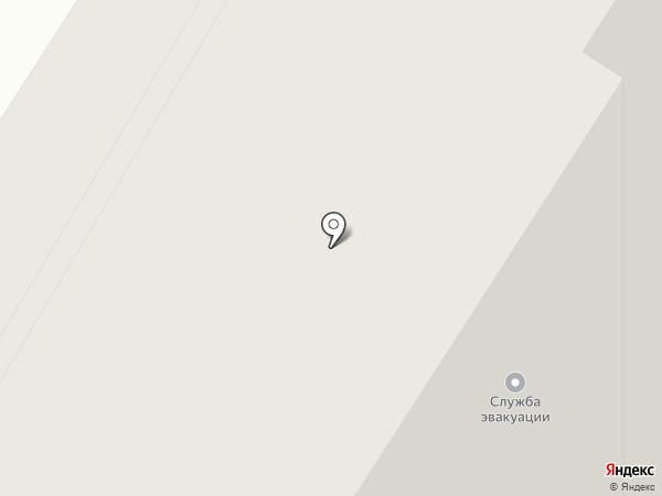 Виниловые наклейки на карте Норильска