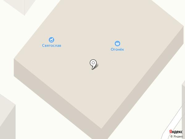 Огонек на карте Норильска
